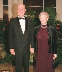 John and Barbara Eisenhower